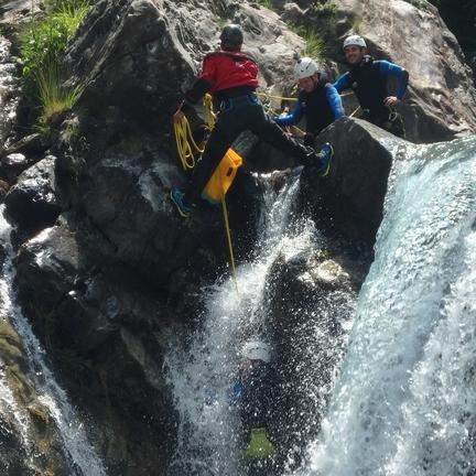 Canyoning à Gèdre - Luz Saint Sauveur 1