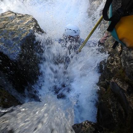 Canyon du Gave d'Hèas Intégral Canyoning à Gèdre - Luz Saint Sauveur 1