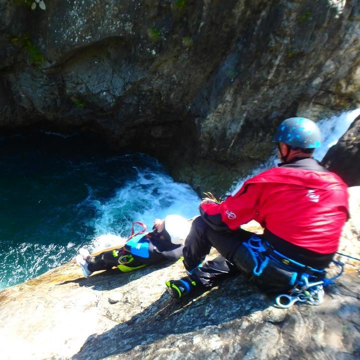 Canyoning au Maillet