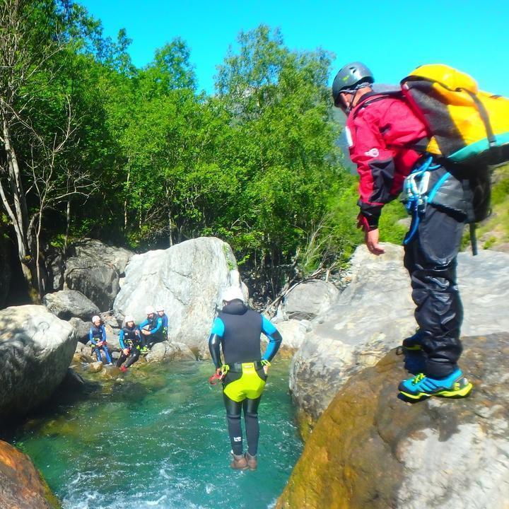 Canyon du Mini Gave d'Heas Gèdre - Luz Saint Sauveur 1