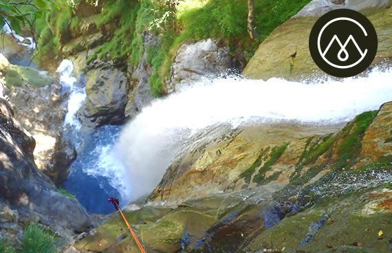 Canyoning à Hèas - Luz Saint Sauveur - Gavarnie - Canyon du Mailllet Médian