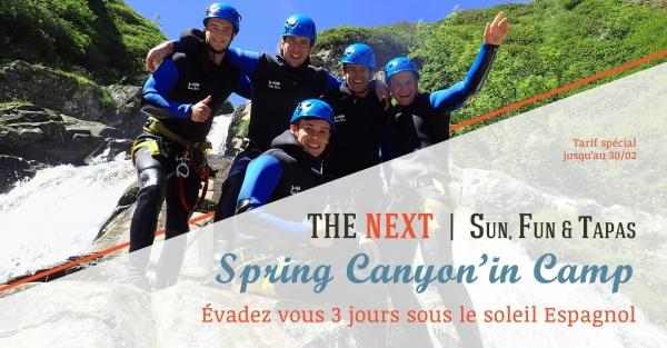 Formation au canyoning, 3 jours